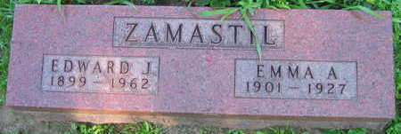 ZAMASTIL, EMMA A. - Linn County, Iowa | EMMA A. ZAMASTIL