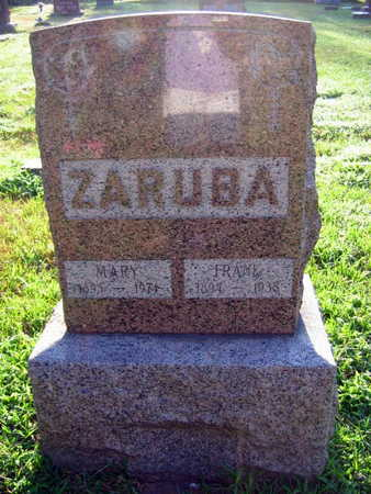 ZARUBA, MARY - Linn County, Iowa | MARY ZARUBA