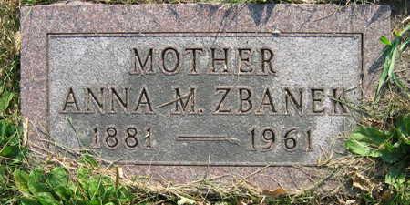 ZBANEK, ANNA M. - Linn County, Iowa | ANNA M. ZBANEK