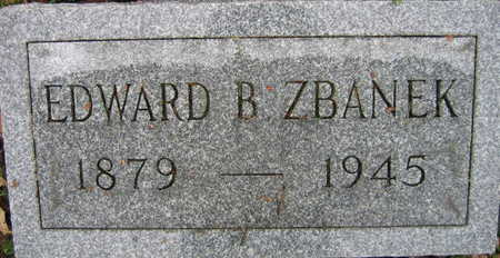 ZBANEK, EDWARD B. - Linn County, Iowa | EDWARD B. ZBANEK