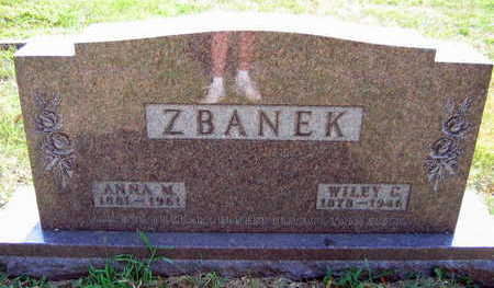ZBANEK, WILEY C. - Linn County, Iowa | WILEY C. ZBANEK