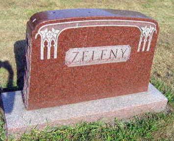 ZELENY, FAMILY STONE - Linn County, Iowa | FAMILY STONE ZELENY