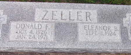 ZELLER, DONALD F. - Linn County, Iowa | DONALD F. ZELLER
