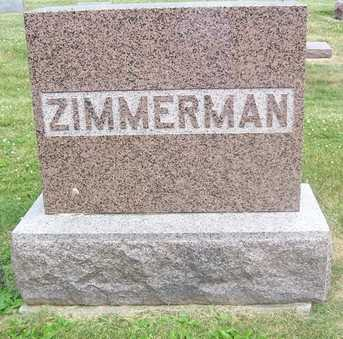 ZIMMERMAN, FAMILY STONE - Linn County, Iowa | FAMILY STONE ZIMMERMAN