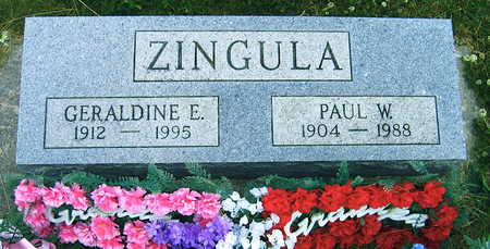 ZINGULA, PAUL W. - Linn County, Iowa | PAUL W. ZINGULA