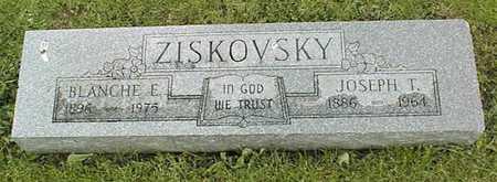 ZISKOVSKY, BLANCHE E. - Linn County, Iowa | BLANCHE E. ZISKOVSKY