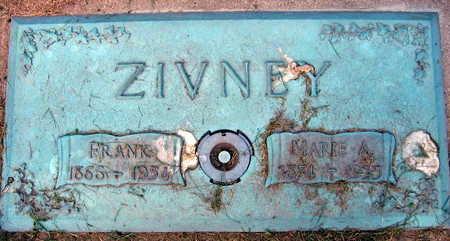 ZIVNEY, FRANK - Linn County, Iowa | FRANK ZIVNEY