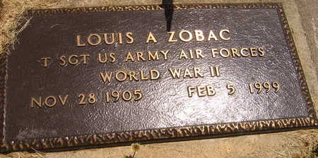 ZOBAC, LOUIS A. - Linn County, Iowa | LOUIS A. ZOBAC