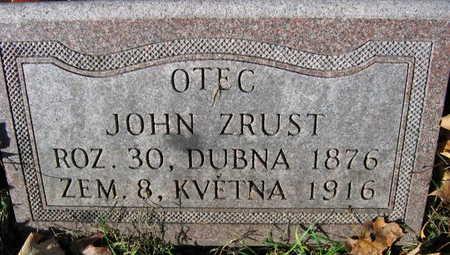 ZRUST, JOHN - Linn County, Iowa | JOHN ZRUST