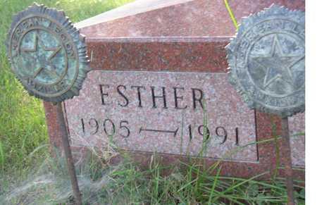 ZVACEK, ESTHER - Linn County, Iowa | ESTHER ZVACEK
