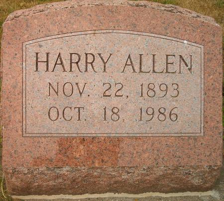 ALLEN, HARRY - Louisa County, Iowa | HARRY ALLEN