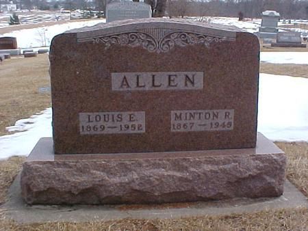 ALLEN, LOUIS ELIZABETH - Louisa County, Iowa | LOUIS ELIZABETH ALLEN
