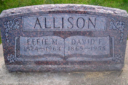 ALLISON, DAVID F. - Louisa County, Iowa | DAVID F. ALLISON