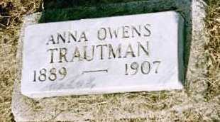 TRAUTMAN, ANNA - Louisa County, Iowa | ANNA TRAUTMAN