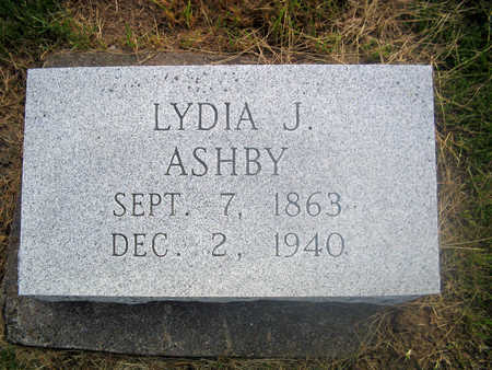 ASHBY, LYDIA J. - Louisa County, Iowa | LYDIA J. ASHBY