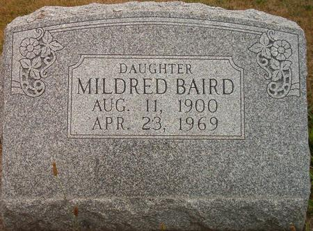 BAIRD, MILDRED - Louisa County, Iowa | MILDRED BAIRD