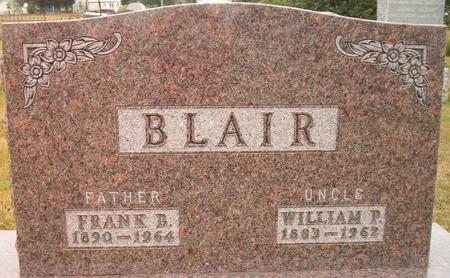 BLAIR, FRANK B. - Louisa County, Iowa | FRANK B. BLAIR