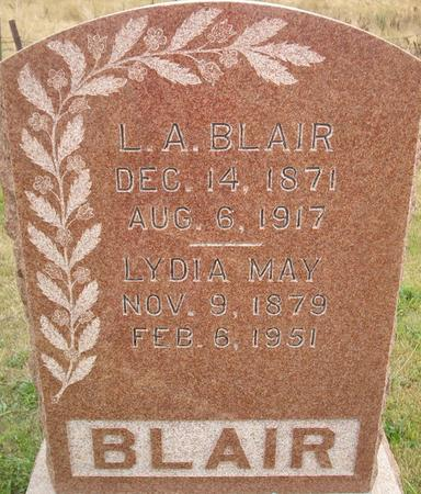 BLAIR, L. A. - Louisa County, Iowa | L. A. BLAIR
