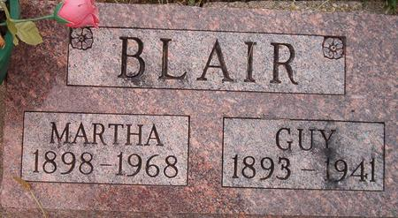 BLAIR, MARTHA - Louisa County, Iowa | MARTHA BLAIR
