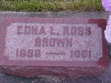 BROWN, EDNA - Louisa County, Iowa | EDNA BROWN