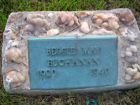 BUCHANAN, BESSIE MAY - Louisa County, Iowa | BESSIE MAY BUCHANAN