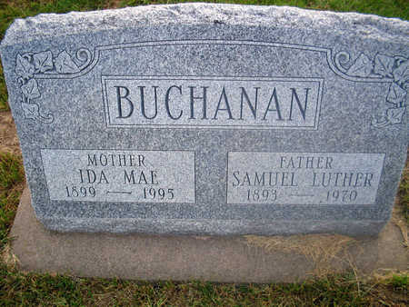 BUCHANAN, SAMUEL LUTHER - Louisa County, Iowa | SAMUEL LUTHER BUCHANAN