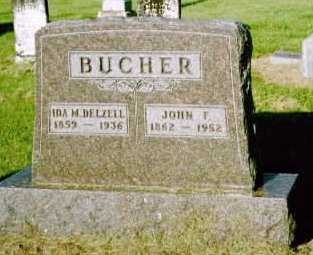 BUCHER, JOHN F. - Louisa County, Iowa | JOHN F. BUCHER