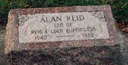 BUFFINGTON, ALAN REID - Louisa County, Iowa | ALAN REID BUFFINGTON