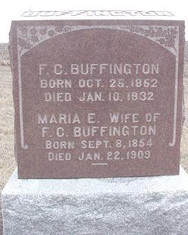 JONES BUFFINGTON, MARIA - Louisa County, Iowa | MARIA JONES BUFFINGTON