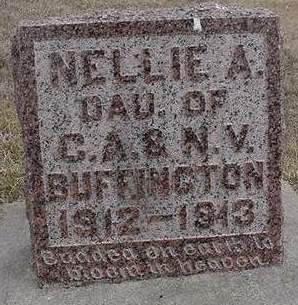 BUFFINGTON, NELLIE - Louisa County, Iowa | NELLIE BUFFINGTON