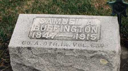 BUFFINGTON, SAMUEL A. - Louisa County, Iowa | SAMUEL A. BUFFINGTON
