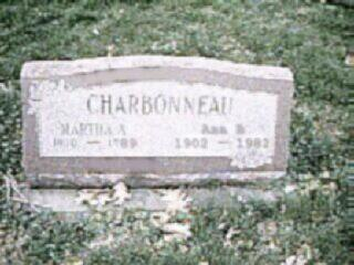 BOWERS CHARBONNEAU, MARTHA - Louisa County, Iowa | MARTHA BOWERS CHARBONNEAU