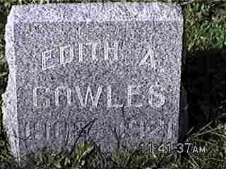 COWLES, EDITH - Louisa County, Iowa   EDITH COWLES