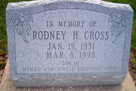 CROSS, RODNEY H. - Louisa County, Iowa | RODNEY H. CROSS