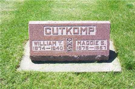 CUTKOMP, WILLIAM THOMAS - Louisa County, Iowa | WILLIAM THOMAS CUTKOMP