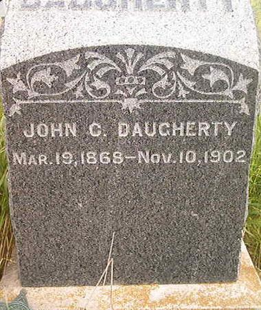 DAUGHERTY, JOHN C. - Louisa County, Iowa | JOHN C. DAUGHERTY