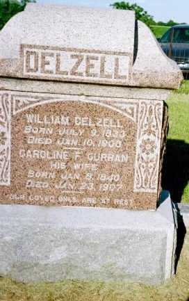 DELZELL, WILLIAM - Louisa County, Iowa | WILLIAM DELZELL