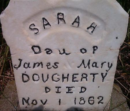 DOUGHERTY, SARAH - Louisa County, Iowa | SARAH DOUGHERTY
