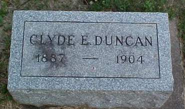 DUNCAN, CLYDE E. - Louisa County, Iowa | CLYDE E. DUNCAN