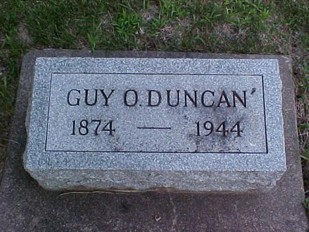DUNCAN, GUY O. - Louisa County, Iowa | GUY O. DUNCAN
