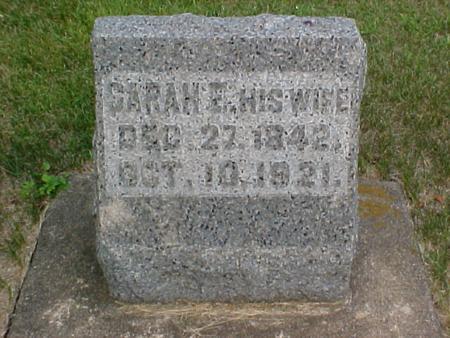 DUNCAN, SARAH ELIZABETH - Louisa County, Iowa | SARAH ELIZABETH DUNCAN