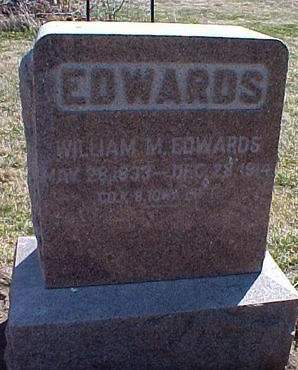 EDWARDS, WILLIAM M. - Louisa County, Iowa | WILLIAM M. EDWARDS
