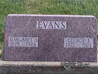 EVANS, GEORGE - Louisa County, Iowa | GEORGE EVANS