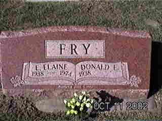 CLAYTON FRY, E. ELAINE - Louisa County, Iowa | E. ELAINE CLAYTON FRY