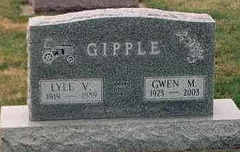 GIPPLE, LYLE V. - Louisa County, Iowa | LYLE V. GIPPLE