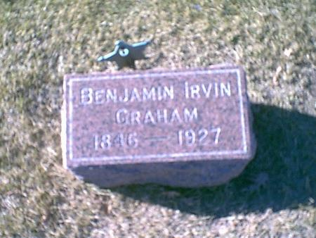 GRAHAM, BENJAMIN IRVIN - Louisa County, Iowa | BENJAMIN IRVIN GRAHAM