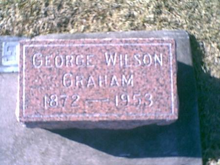 GRAHAM, GEORGE WILSON - Louisa County, Iowa | GEORGE WILSON GRAHAM