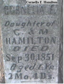 HAMILTON, CORNELLA E. - Louisa County, Iowa | CORNELLA E. HAMILTON