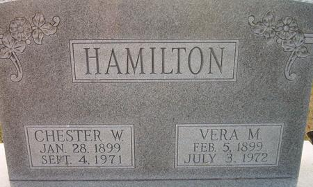 HAMILTON, CHESTER W. - Louisa County, Iowa | CHESTER W. HAMILTON