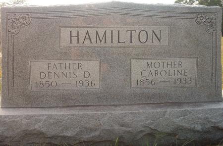 HAMILTON, CAROLINE - Louisa County, Iowa | CAROLINE HAMILTON